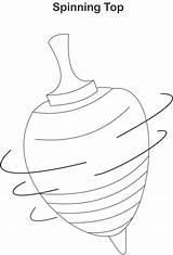 Clipground Dreidel sketch template