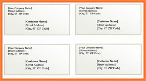 microsoft word address label template free printable return mailing address label template