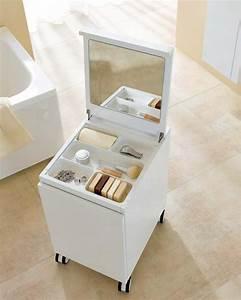 le meuble de rangement de maquillage organisez vos trucs With meuble maquillage
