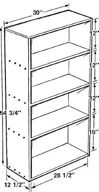 Free Bookcase Plans To Build by How To Build A Bookcase Howstuffworks