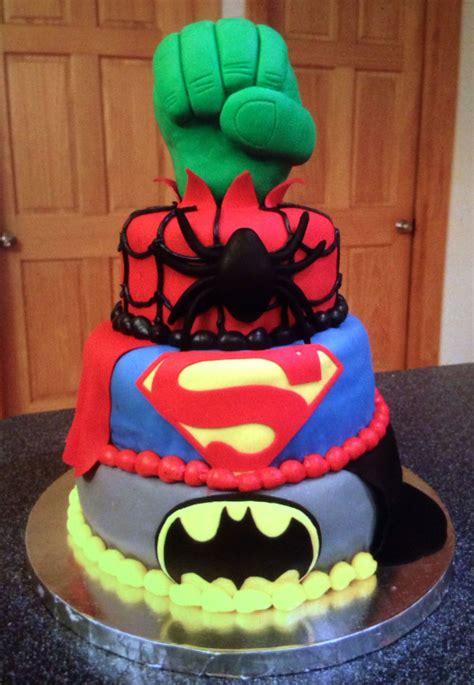 You've seen the seam hider help fix cakes all across the how. Marvel Superhero cake | Superhero cake, Cake, Desserts