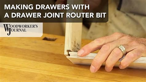 drawer box   drawer joint router bit