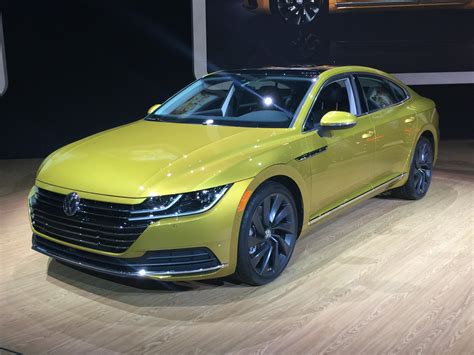 Auto Show 2019 : Volkswagen Reveals All-new 2019 Arteon At Chicago Auto