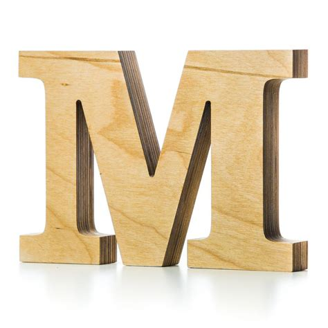 wooden block letters wooden letter crafted from quality birch plywood 15580