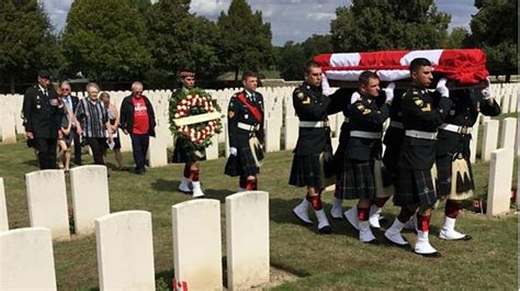 macif vendin le vieil siege manitoba war veteran laid to rest in