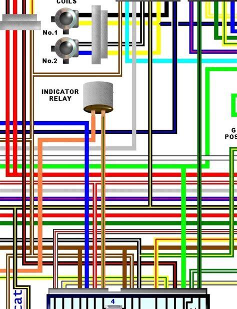 Kawasaki Eja Spec Colour Wiring Loom Circuit