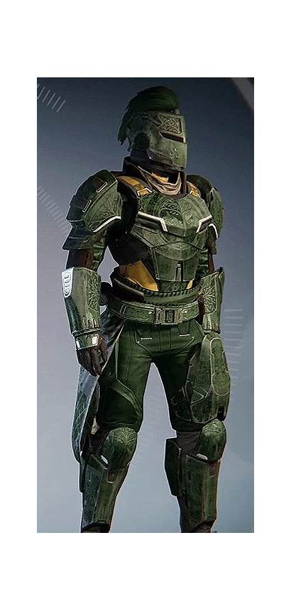 Destiny Titan Iron Hunter Companion Gear Armor