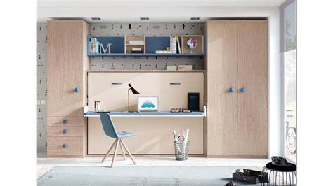 Lit Bureau Escamotable Compact Et Pratique