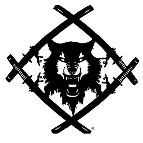 quot hollow squad wulf logo quot by creeps redbubble