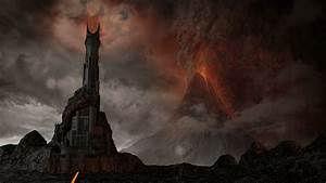 the tower of barad dur 3d model cgtrader