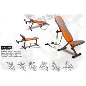 Chair Sit Ups 500 Reps by Tri Bench Sub1156a