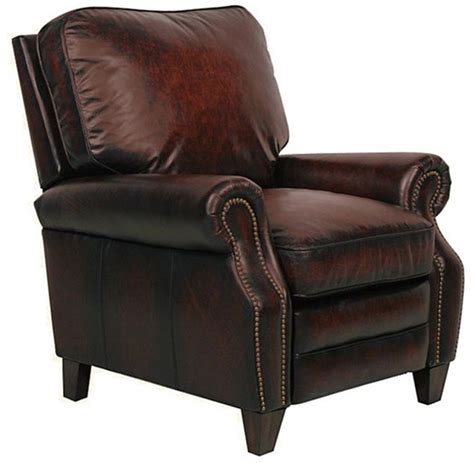 barcalounger briarwood ii stetson bordeaux leather