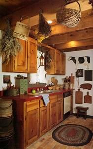 Prim Kitchen Country Decorating Pinterest Kitchens
