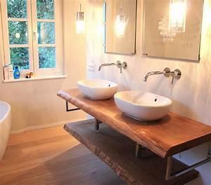 Waschtischplatte Holz Rustikal : 22 besten waschtidch bilder auf pinterest badezimmer badezimmerideen und moderne badezimmer ~ Sanjose-hotels-ca.com Haus und Dekorationen