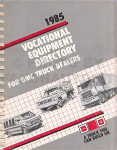 1985 Gmc Medium Truck Repair Shop Manual Original