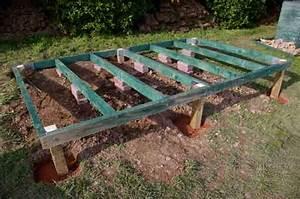 Dalama: Garden shed base construction