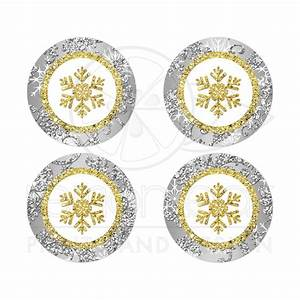 gold snowflake envelope seal silver gold white With kitchen colors with white cabinets with wedding invitation seal stickers