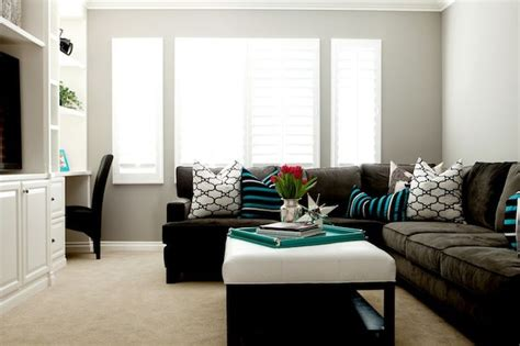 living rooms windsor smith riad gray walls espresso