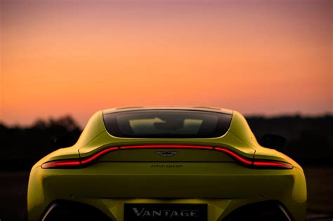 aston martin back the new 2018 aston martin vantage revealed in pictures by