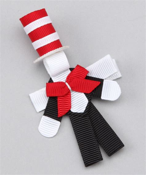 Cat In The Hat Clip Cat In Hat Clip Dr Suess Cat Hair Bow And