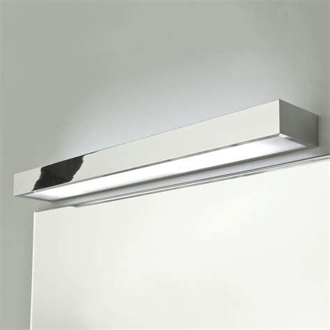 astro tallin 600 polished chrome bathroom wall light at uk