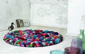 Runder Bunter Teppich : kleine runde teppiche sehen so s aus ~ Sanjose-hotels-ca.com Haus und Dekorationen