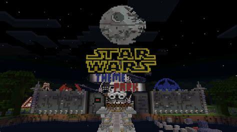 star wars theme park minecraft pocket edition maps mods