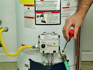 How To Flush A Water Heater   Step