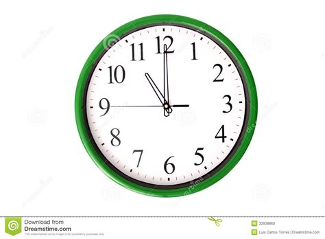 11 O'clock Stock Photo. Image Of Analog