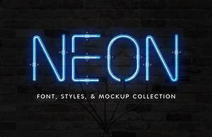 neon font effect collection medialoot With neon letter maker
