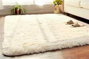 Soft fluffy rugs anti skid shaggy rug dining room home for Fluffy rugs