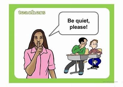 Classroom Language Ppt Flashcards Screen Esl Teachers