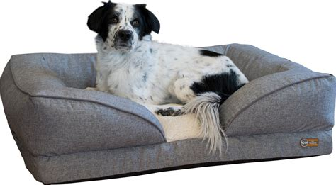 kh pet products pillow top orthopedic lounger dog cat bed