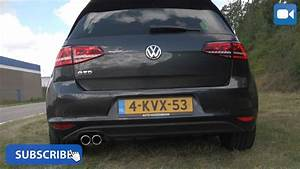Golf Gtd 7 : vw golf 7 gtd nice startup revs exhaust sound youtube ~ Medecine-chirurgie-esthetiques.com Avis de Voitures