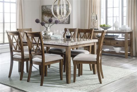 narvilla  tone rectangular dining room set   ashley
