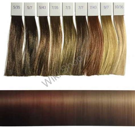 Illumina Color Wella Cartella Colori by Illumina Color Wella Coloration Warm Shades