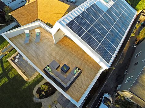 solar panels on houses unexpected roof design for solar panels in this net zero home