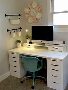 Schreibtisch Im Schlafzimmer : pin von sybille klempt auf ikea schlafzimmer schreibtisch b ro zimmer und schlafzimmer ~ Eleganceandgraceweddings.com Haus und Dekorationen