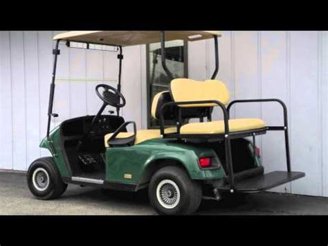 2006 e z go pds electric golf cart cground special green youtube