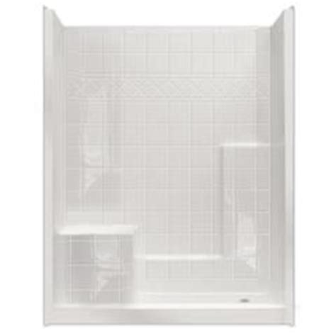 Integrated Shower Units by 60 Quot X 32 Quot 3 Shower Unit W Integral Seat Home