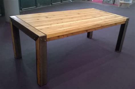 table basse acier bois spitpod