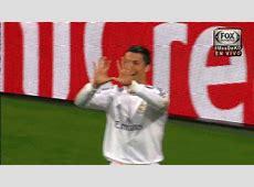 GIF Cristiano Ronaldo Celebrates His 15th Champions