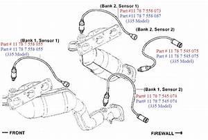 Bmw E90  E92  E93 3  Oxygen Sensor Oem