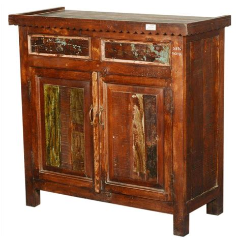 wood storage cabinet rustic extended top reclaimed wood storage cabinet