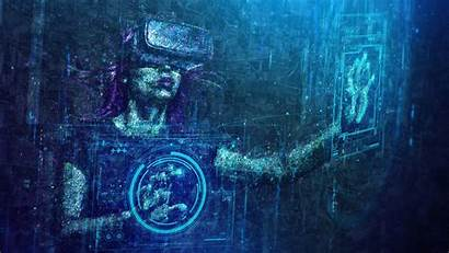 Virtual Photoshop Reality Digital Abstract Sci Fi