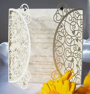 ivory heart laser cut wedding invitations cards 4 ever With laser cut wedding invitations edinburgh
