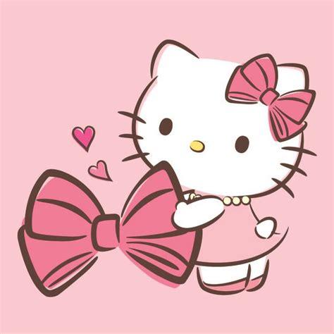 Hello Kitty & Her Beloved Bow ♪(´ε` )  Hello Kitty