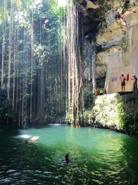 reasons  swim   cenote  chichen itza