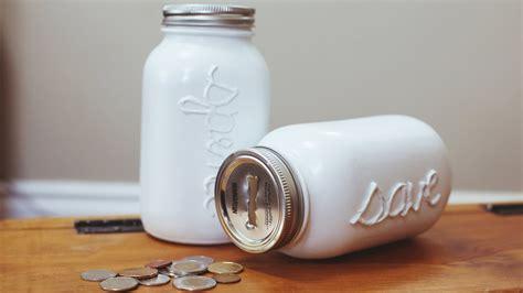 how to use jars diy mason coin jar piggy bank youtube