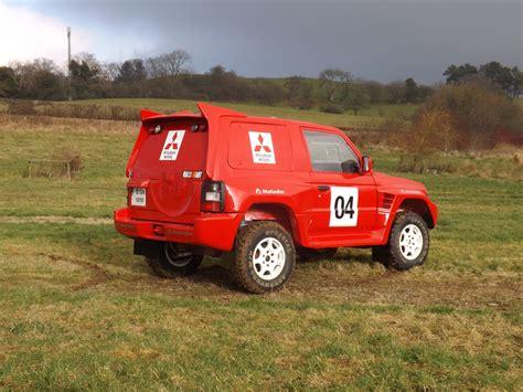 mitsubishi pajero dakar racecarsdirect com 1998 ex dakar rally mitsubishi pajero